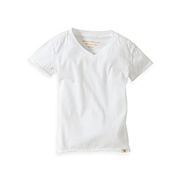 Burt's Bees Baby® Organic Cotton Short Sleeve V-Neck T-Shirt in Cloud