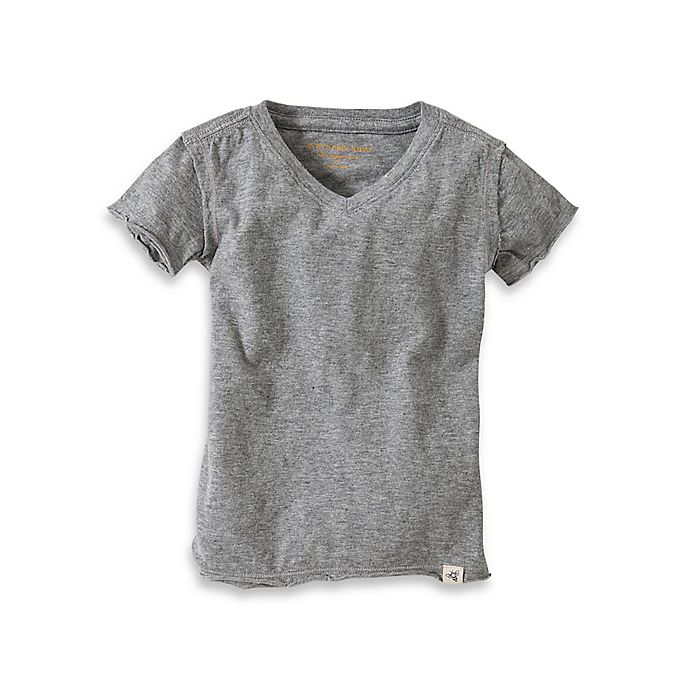8d6ffeddf Burt's Bees Baby® Organic Cotton Short Sleeve V-Neck T-Shirt in Heather Grey