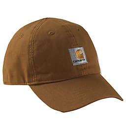 Carhartt® Solid Logo Hat in Brown