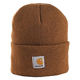 Carhartt® Infant/Toddler Foldover Knit Hat in Brown