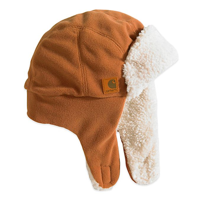 Alternate image 1 for Carhartt® Sherpa Lined Bubba Hat in Brown