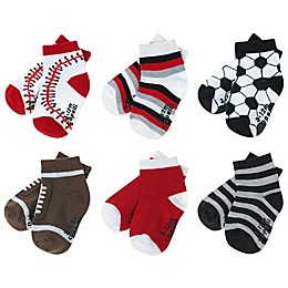 Capelli New York 6-Pack Multi-Sports Socks