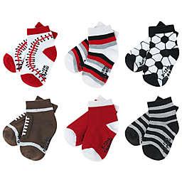 Capelli New York 6-Pack Multi-Sports Socks