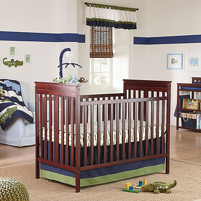 Nojo Alligator Blues 4 Piece Crib Bedding Set Bed Bath
