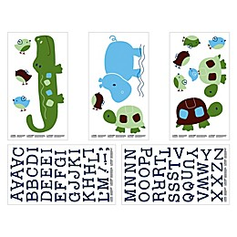 NoJo® Alligator Blues Wall Decals