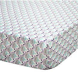The Peanut Shell® Zoe Fitted Crib Sheet