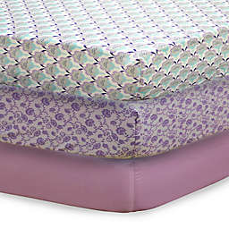 The Peanutshell™ Zoe Mix & Match Fitted Crib Sheets