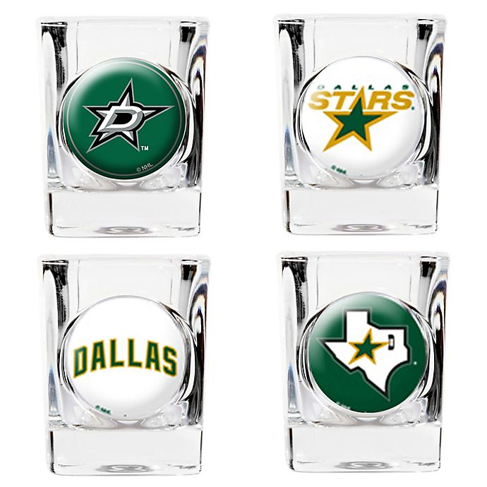 NHL Dallas Stars Collector's Shot Glasses (Set of 4) | Bed Bath & Beyond
