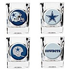 NFL Dallas Cowboys Collector's Shot Glasses (Set of 4)