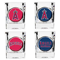 MLB Los Angeles Angels Collector's Shot Glasses (Set of 4)