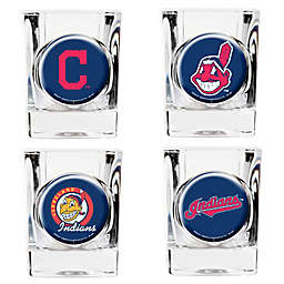 MLB Cleveland Indians Collector's Shot Glasses (Set of 4)