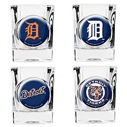 MLB Detroit Tigers Collector's Shot Glasses (Set of 4)