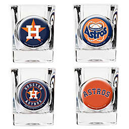 MLB Houston Astros Collector's Shot Glasses (Set of 4)