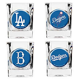 MLB Los Angeles Dodgers Collector's Shot Glasses (Set of 4)