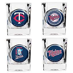 MLB Minnesota Twins Collector's Shot Glasses (Set of 4)