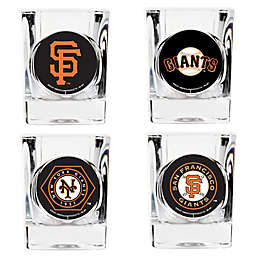 MLB San Francisco Giants Collector's Shot Glasses (Set of 4)