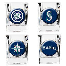 MLB Seattle Mariners Collector's Shot Glasses (Set of 4)