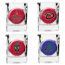 MLB Arizona Diamondbacks Collector's Shot Glasses (Set of 4)