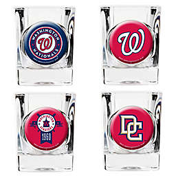 MLB Washington Nationals Collector's Shot Glasses (Set of 4)