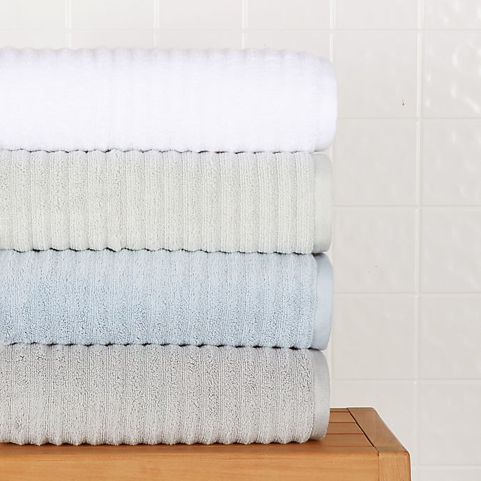Alternate image 1 for Haven™ Wave Organic Cotton Bath Towel Collection
