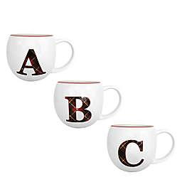 Bee & Willow™ Plaid Monogram Letter Coffee Mug