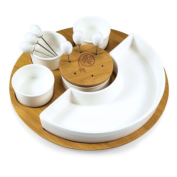 Alternate image 1 for Picnic Time® NFL Washington Redskins Symphony Appetizer Set