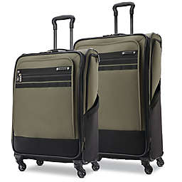 American Tourister® Ally Spinner Checked Luggage in Green