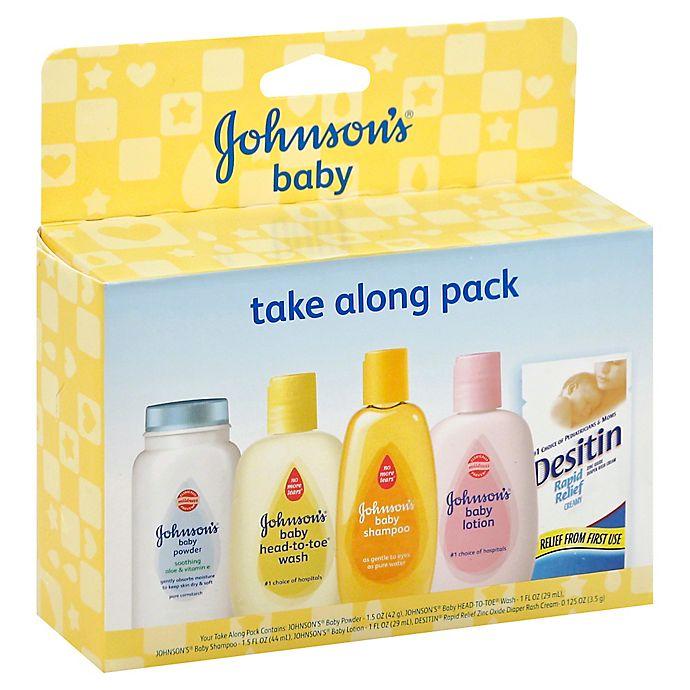 Johnson Amp Johnson 174 Baby Take Along Trial Pack Bed Bath