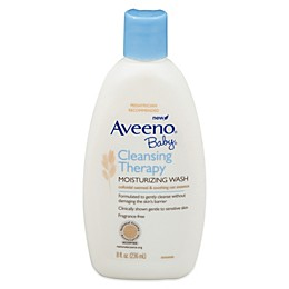 AVEENO® 8 oz. Baby Cleansing Therapy Moisturizing Wash