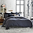 Part of the Kenneth Cole Reaction Home Element Reversible Duvet Cover in Indigo