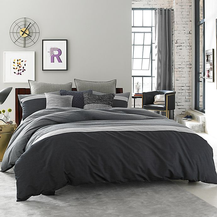 Alternate image 1 for Kenneth Cole Reaction Home Fusion Comforter in Indigo