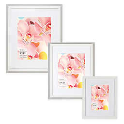 Snap Matted MDF Picture Frame in White