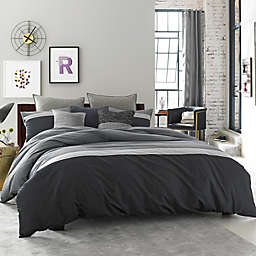 Kenneth Cole Reaction Home Fusion Bed Skirt in Indigo