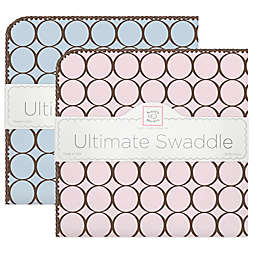 Swaddle Designs® 100% Cotton Flannel Circle Receiving Blankets®