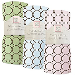 Swaddle Designs® Circles Lightweight Marquisette Swaddling Blanket