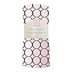 Swaddle Designs® Circles Lightweight Marquisette Swaddling Blanket in Pink and Brown
