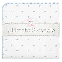 Swaddling Designs® Dot Flannel Swaddling Blanket