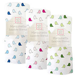 Swaddling Designs® Little Chickies Marquisette Swaddling Blanket
