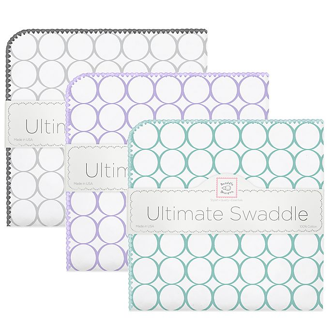 Alternate image 1 for SwaddleDesigns® Mod Circles Ultimate Swaddle