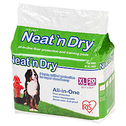 IRIS® Neat 'n Dry™ 20-Pack XL Floor Protection and Training Pads