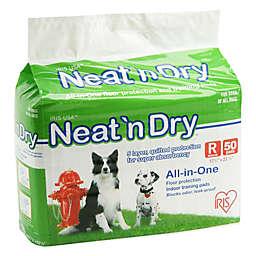 IRIS® Neat 'n Dry™ 50-Pack Medium Floor Protection and Training Pads