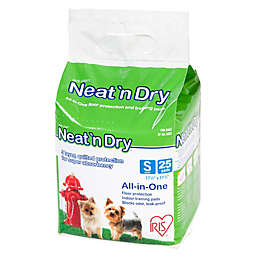 IRIS® Neat 'n Dry™ 25-Pack Small Floor Protection and Training Pads