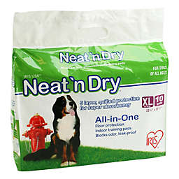 IRIS® Neat 'n Dry™ 10-Pack XL Floor Protection and Training Pads