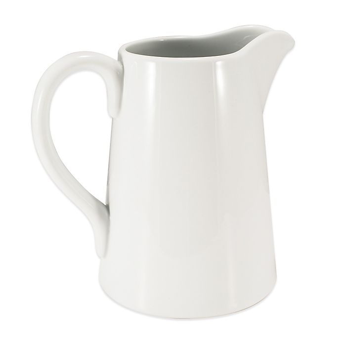 Alternate image 1 for Everyday White® by Fitz and Floyd® Pitcher