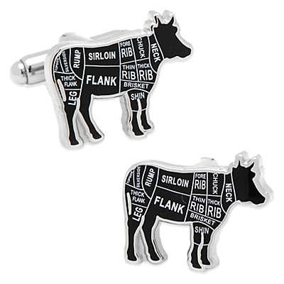 Beef Butcher Cuts Cufflinks