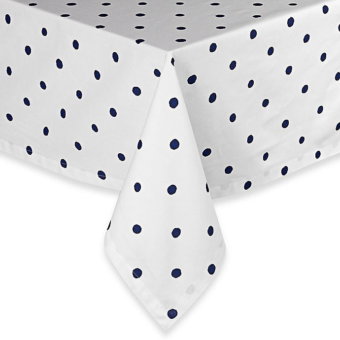 Alternate image 1 for kate spade new york Charlotte Street Tablecloth  in Indigo