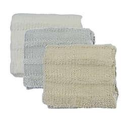 Bee & Willow™ Cozy Stripe Faux Fur Throw Blanket