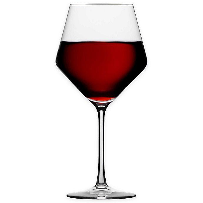 6b341c11bbac Schott Zwiesel Tritan Pure Burgundy Glasses (Set of 6)