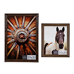 Gallery Solutions Wall Frame in Walnut