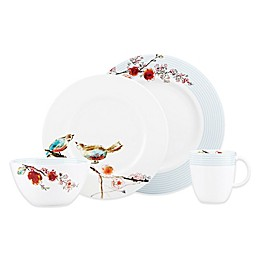 Simply Fine Lenox® Chirp Stripe 4-Piece Place Setting